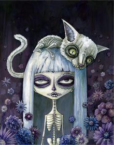 Felina de losmuertos - Megan Majewski