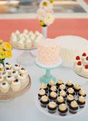 fun cupcakes & one cake for us