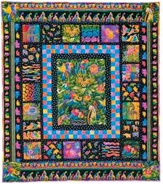 FREE QUILT PATTERN TO DOWNLOAD: Jungle Songs Quilt Pattern, Free ...