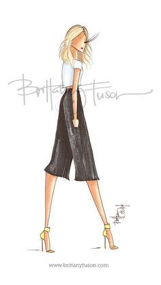 culottes [ www.brittanyfuson.com ]