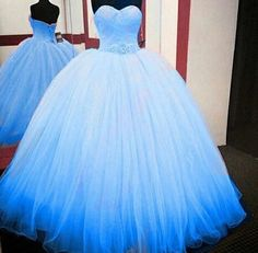 Prom Dresses Tight, Blue Tulle Ball Gown Quinceanera Dresses 2018 Sweetheart Sleeveless Floor Length Bridal Evening Party Wear Custom Beading Sash Fest We Tulle Ball Gown, Tulle Prom Dress, Ball Gowns Prom, Ball Gown Dresses, Pageant Dresses, Pretty Quinceanera Dresses, Pretty Prom Dresses, Quincenera Dresses Blue, Long Dresses