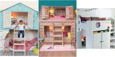 Si tienes niños pequeños os damos algunas soluciones para decorar y buscar un sitio para que los pequeños duerman.