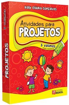 Coleção ATIVIDADES PARA PROJETOS ENSINO FUNDAMENTAL - ISBN 7898220983165