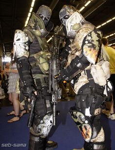 army of two cosplay costumes - Google 검색
