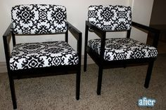 love these chairs, cheap redo