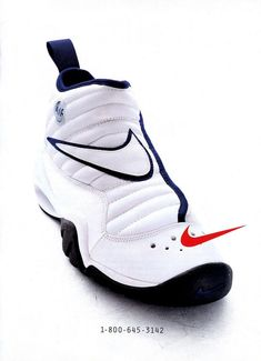 Nike Vintage Ad: Air Shake Ndestrukt, worn by Dennis Rodman Sports Shoes, Basketball Shoes, Basketball Drills, Sneakers Fashion, Shoes Sneakers, Sanuk Shoes, Reebok, Shoes For Leggings, Nike Ad