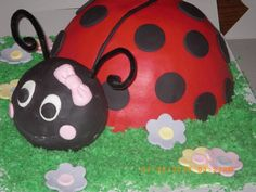 ladybug cupcakes | Adventures in Savings: Ladybug Cake & Cupcakes {Updated!}