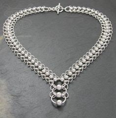 Chainmail Jewelry | ... chain from Silverweaver , a producer of custom chainmail jewelry
