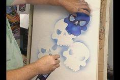 airbrush stencil air