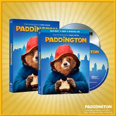 BEARY EXCITING NEWS: Paddington is now available on Blu-ray, DVD, On Demand and Digital HD!