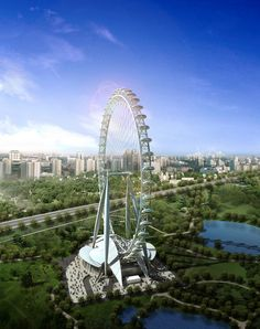 pictures of beijing china | The Great Observation Wheel // Beijing // China // 3
