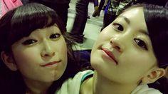"""Akari Yoshida x Kei Jonishi """"けいっちとお風呂で めっちゃお話しした 最近、ご飯とかも行けてなくて ゆっくりできたのは久々! やっぱおちつくよね( ^ω^ )  なんだかぐっすり眠れそう( ^ω^ ) おやすみなさいっ!  #けいリンコンビ"""""""