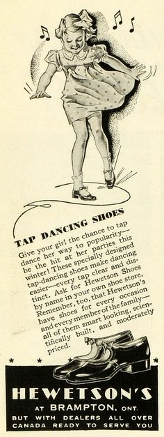 Hetweston's tap dancing shoes.