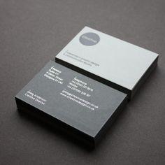 GREIG ANDERSON business card EFFEKTIVE  UK