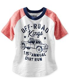 Osh Kosh Little Boys' Off-Road Tee