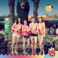 Posamos en #BuschGardens con el #doradoJ16!