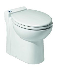 Elegant toilet with Pump for Basement