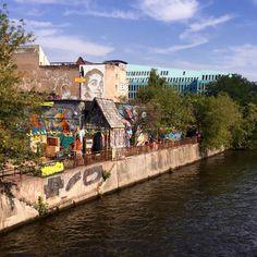 YAAM Berlin (start at East Side Gallery fron Ost Bahnhof)