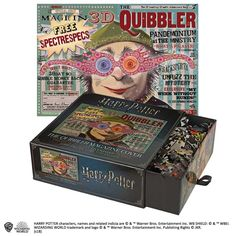 Buy Harry Potter Jigsaw Puzzle - The Quibbler Pieces) at The Shop That Must Not Be Named today, a magical independent shop specialising in officially licensed Harry Potter merchandise. Harry Potter Puzzle, Harry Potter Welt, Carte Harry Potter, Harry Potter Characters, Peluche Harry Potter, League Of Legends, Dragons 3, Dc Comics, Harry Potter Memes