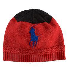POLO RALPH LAUREN Knit Wool Cap