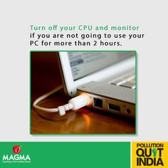 Save Energy! Save Earth! Re-pin and spread the message.