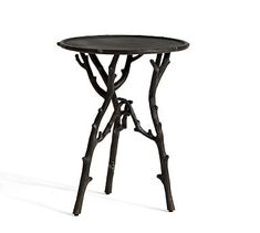 Twig Accent Side Table #potterybarn