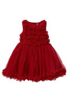 Red Flower Party Dress #myAW13 #next