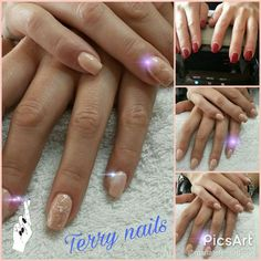 #freetoedit Terry nails#refil#acrylic #baby #cute #nature #love # #sugar #nailart #bianco #glittereffect