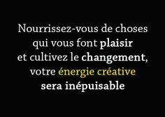 Comment (re)trouver l'énergie de créativité ? : http://www.habitudes-zen.fr/2016/comment-retrouver-lenergie-de-creativite/ :) #énergie #Créativité