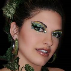 Sparkly Green Eyes for Fairy Costume