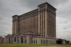 Michigan Central Station in Detroit, MI detroit photographer michigan central station mcs