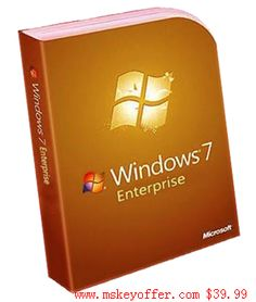 windows 7 Enterprise just $39.99 , you can get free download link , and a genuine key , welcome to our store : mskeyoffer.com