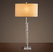 Parallel Table Lamp - Polished Nickel