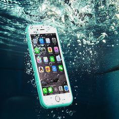 Sale 20% (3.81$) - GP Ultra-thin TPU Waterproof Shockproof Touch Screen Protective Sleeve For iPhone 6 6S 4.7 Inch
