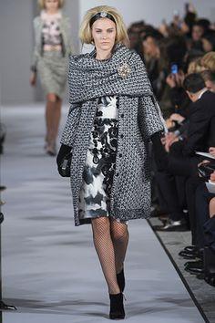 oscar de la renta fall 2012 -- loving this coat.