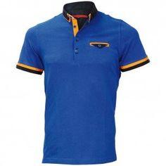 Polo double col EDWIN Andrew Mc Allister E-DBCOL9 Plain Polo Shirts, Lacoste, Edwin, Polo Ralph Lauren, Shirt Dress, Paint Brushes, Mens Tops, Child, 3d