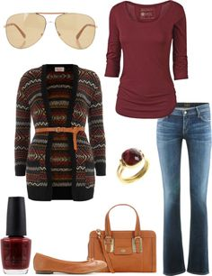 """Out & About."" by andrea-estep ❤ liked on Polyvore"
