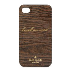 knock on wood phone case