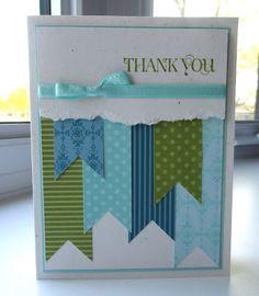 Thank You card by Martha Inchley