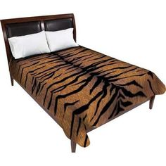 LUXURY BLANKET - TIGER PRINT