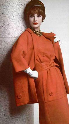 1961 Christian Dior | inspiration for Celeste Mortinné's style @ the last canvas…