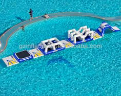2013 {Qi Ling} Commercial Giant inflatable water toys for pool/lake/resort/sea