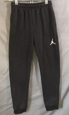 Nike Air Jordan Athletic Sweatpants Boys Size Large - Black  7c83d01cecb