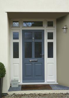 Traditional Wooden Front Doors - hardwood, softwood or oak
