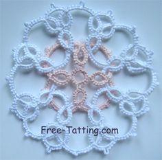 tatted motif free pattern