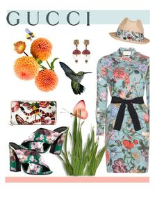 """Presenting the Gucci Garden Exclusive Collection: Contest Entry"" by hellodollface ❤ liked on Polyvore featuring Gucci and gucci"