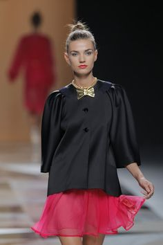 I cannot figure out which look is my favourite for Ailanto. So Ill post my top 5 besties. Fashion week madrid SS 2013.