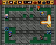 Bomber man  is an arcade-style maze-based video game developed by Hudson Soft. It was first released in 1983 for the MSX, NEC PC-8801, NEC PC-6001, Sharp MZ-700 and FM-7 in Japan, and for the ZX Spectrum in Europe (under the English language title Eric and the Floaters, Spanish Don Pepe Y Los Globos). Bomberman spawned the long-running series with many installments building on its basic game play. The earlier game Warp & Warp by Namco is most likely the inspiration for the Bomber man game…