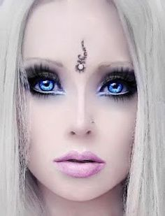 I find it disturbing that anyone would have plastic surgery to look like a Barbie doll. It doesn't surprise me at all, but I find it disturbing.