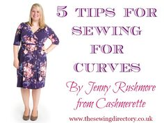 It takes real skill to sew for plus size women -- that is, any woman, regardless of size, who is not shaped like a pencil.